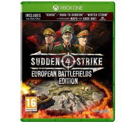 KALIPSO XBOX ONE SUDDEN STRIKE 4: EUROPEAN BATTLEFIELDS EDITION VERSIONE ITALIANA