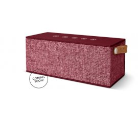 Fresh 'n Rebel Rockbox Brick XL Fabriq Edition 20 W Altoparlante portatile stereo Bordeaux