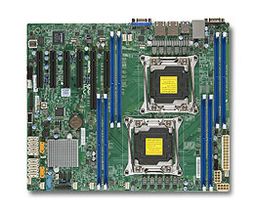 Supermicro X10DRL-i server/workstation motherboard LGA 2011 (Socket R) ATX Intel® C612 2