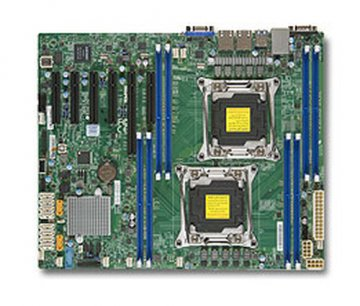 Supermicro X10DRL-i server/workstation motherboard LGA 2011 (Socket R) ATX Intel® C612