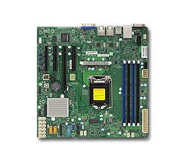 Supermicro X11SSM server/workstation motherboard LGA 1151 (Presa H4) Micro ATX Intel® C236