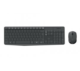 920007913 TASTIERA+MOUSE WIRELESS MK235 NERO