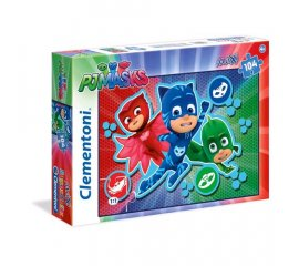 CLEMENTONI E-ONE PJ MASKS ALL SHOUT HOORAY! 104 MAXI pcs (23707)