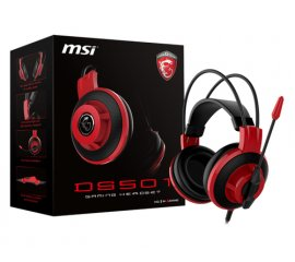 MSI DS501 CUFFIA GAMING GAMING BLACK/RED