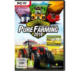 Koch Media Pure Farming 2018, PC videogioco Day One ITA