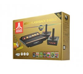 Atari Flashback 8 Gold Nero