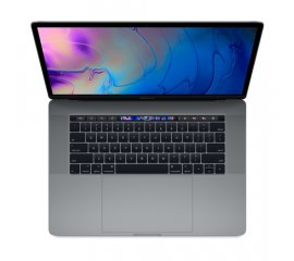 "APPLE MACBOOK PRO 15 CON TOUCH BAR 15.4"" i7-8xxx 2.6GHz RAM 16GB-SSD 512GB-RADEON PRO 555 4GB-MacOS SIERRA ITALIA SPACE GREY (MR942T/A)"