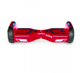 "NILOX DOC 2 HOVERBOARD PLUS RUOTE 6.5"" COLORE RED/BLUE"
