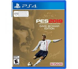 KONAMI PS4 PES 2019 BECKHAM EDITION