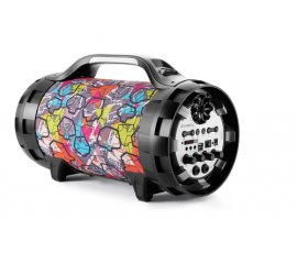 BIGBEN INTERACTIVE BT50GRAFF SPEAKER BLUETOOTH GHETTO BLASTER