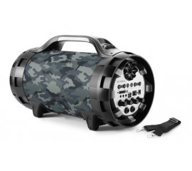 BIGBEN INTERACTIVE BT50ARMY SPEAKER BLUETOOTH GHETTO BLASTER ARMY