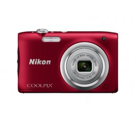 "COOLPIXA100RED FOTO DIG. 2.7""20.1MP 5X VID.720P ROSSO"