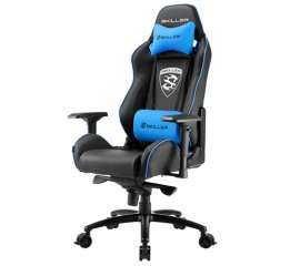 Sharkoon SKILLER SGS3 Sedia da gaming per PC Seduta imbottita Nero, Blu