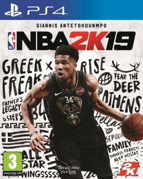 2K NBA 2K19, PS4 videogioco PlayStation 4 Basic ITA