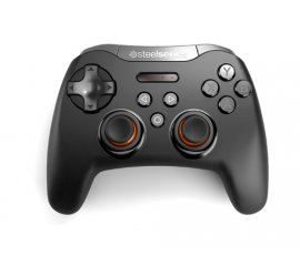 Steelseries STRATUS XL Gamepad Android,PC Analogico/Digitale Bluetooth Nero