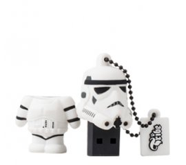 Tribe Stormtrooper unità flash USB 8 GB USB tipo A 2.0 Nero, Bianco