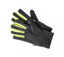 CELLY SPORT TOUCH GLOVES GUANTI TOUCH BLACK YELLOW