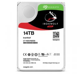 "SEAGATE IRONWOLF NAS HDD INTERNO 14TB FORMATO 3.5"" INTERFACCIA SATA 7.200 RPM"
