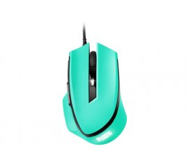 SHARKOON SHARK FORCE MOUSE GAMING OTTICO 1.600DPI COLORE VERDE