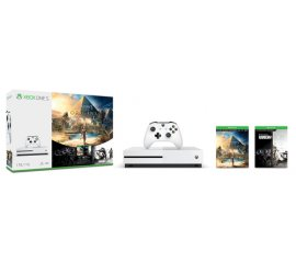 MICROSOFT XBOX ONE S 1TB WHITE + ASSASSIN'S CREED: ORIGINS