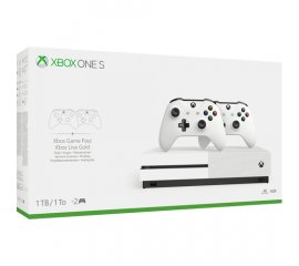 MICROSOFT XBOX ONE S 1TB + 2 CONTROLLER WIRELESS