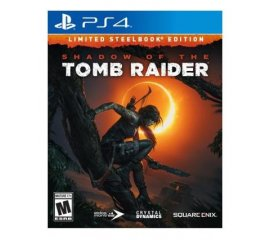 Square Enix Shadow of the Tomb Raider Limited Day One Steelbook Edition, PS4 PlayStation 4 Limitata