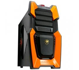 COUGAR CHALLENGER CABINET MIDDLE-TOWER NERO/ARANCIO