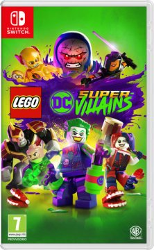 WARNER BROS SWITCH LEGO DC SUPER VILLAINS