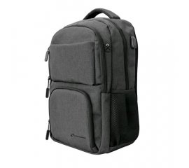 "TECHMADE TECHBAG-O-BK ZAINO PER NOTEBOOK 15,6"" CON PORTA USB COLORE NERO"