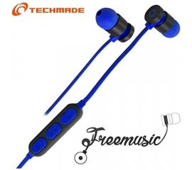 TECHMADE TM-FRMUSIC-DB AURICOLARI BLUETOOTH DARK BLU
