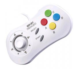 SNK NEOGEO MINI PAD WHITE