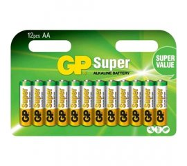GP BATTERY SUPER BATTERIA MINI STILO AAA ALCALINA CONF. 12 PZ.