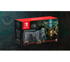 NINTENDO SWITCH CONSOLE DIABLO 3 LIMITED EDITION + CUSTODIA + DIABLO 3: ETERNAL COLLECTION