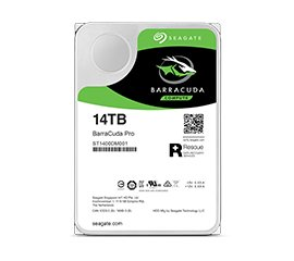 "SEAGATE BARRACUDA PRO HDD 14.000GB INTERNO 3.5"" SATA III (ST14000DM001)"