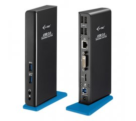 i-tec U3HDMIDVIDOCK replicatore di porte e docking station per notebook USB 3.0 (3.1 Gen 1) Type-A Nero