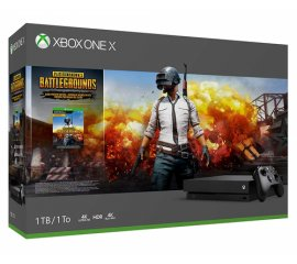 MICROSOFT XBOX ONE X 1TB + PLAYERUNKNOWN'S BATTLEGROUNDS