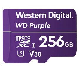 Western Digital Purple memoria flash 256 GB MicroSDXC