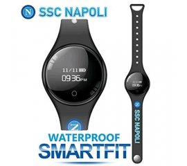 "TECHMADE FREETIME SMARTWATCH 0.66"" UFFICIALE SSC NAPOLI BLACK"