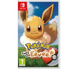 NINTENDO SWITCH POKEMON LET'S GO EEVEE! + POKÉ BALL PLUS