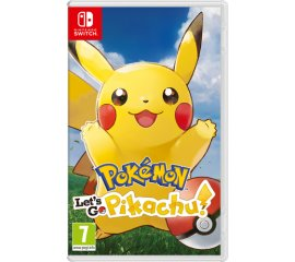 NINTENDO SWITCH POKEMON LET'S GO PIKACHU! + POKÉ BALL PLUS