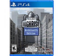 KALYPSO PS4 PROJECT HIGHRISE ARCHITECT'S EDITION
