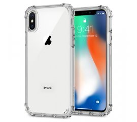SPIGEN iPHONE X CUSTODIA CRYSTAL SHELL CLEAR