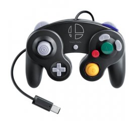 Nintendo GameCube Controller - Super Smash Bros. Edition Gamepad Nintendo Switch Analogico/Digitale USB Nero