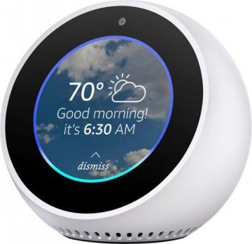 Amazon Echo Spot - Bianco