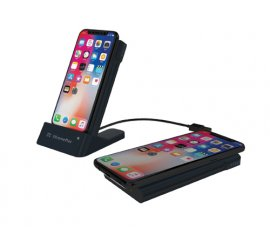 XtremeMac 215870 batteria portatile Nero 6000 mAh Carica wireless