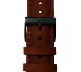 Withings 4883171 cinturino per orologio Watch strap Pelle Marrone