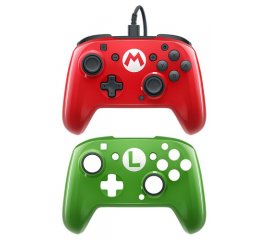 PDP SWITCH FACEOFF DELUXE WIRED CONTROLLER - MARIO