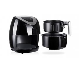 GOCLEVER HOT AIR FRYER Singolo 3,2 L Indipendente 1500 W Friggitrice ad aria calda Nero