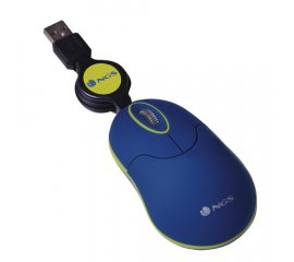 NGS SINBLUE mouse Ambidestro USB tipo A Ottico 1000 DPI