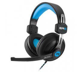 SHARKOON RUSH ER2 CUFFIE GAMING + MICROFONO BLU/NERO